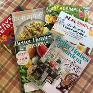 6 August & September 2020 magazines REAL SIMPLE